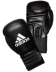 View the Adidas Performer Boxing Gloves Black online at Fight Outlet