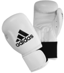 View the Adidas Performer Boxing Gloves White online at Fight Outlet