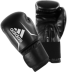View the Adidas Speed 50 Boxing Gloves Black/White online at Fight Outlet