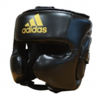 View the Adidas Speed Black Head Guard online at Fight Outlet