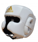 View the Adidas Speed White Head Guard online at Fight Outlet
