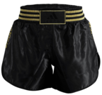 View the Adidas Thai Boxing Shorts - Black/Gold online at Fight Outlet
