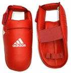 View the Adidas WKF Foot Protector - Red online at Fight Outlet
