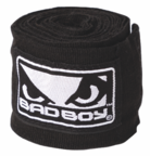 View the Bad Boy HANDWRAPS Black/White 4.5m online at Fight Outlet