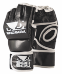 View the Bad Boy MMA Glove Without Thumb, Black/White online at Fight Outlet