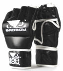 View the Bad Boy MMA Glove With Thumb, Black/White online at Fight Outlet