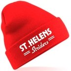 View the ST.HELENS Striders KNITTED WINTER HAT online at Fight Outlet
