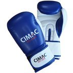 Cimac Artificial Leather Boxing Gloves Blue/White