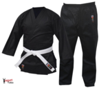 View the Cimac Student Adults Karate Uniform - 8oz Black online at Fight Outlet
