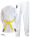 View the Cimac Student Junior Karate Uniform - 8oz White online at Fight Outlet