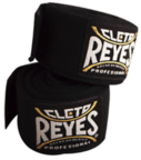View the Cleto Reyes logo handwraps Black 'New Style' online at Fight Outlet