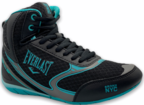View the Everlast Force Ladies Boxing Boots. Black/Baltic online at Fight Outlet