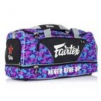 View the BAG2 Fairtex Purple Camo Heavy Duty Gym Bag online at Fight Outlet
