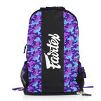 View the BAG4 Fairtex Purple Camo Rucksack Gym Bag online at Fight Outlet
