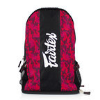 View the BAG4 Fairtex Red Camo Rucksack Gym Bag online at Fight Outlet