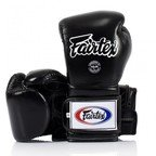 View the Fairtex BGV9 Black Mexican Style Boxing Gloves online at Fight Outlet