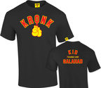 View the KRONK Boxing Kid Galahad Training Camp T Shirt Black online at Fight Outlet