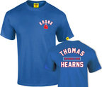View the Kronk Boxing Thomas Hearns Training Camp T Shirt, Royal Blue online at Fight Outlet