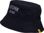 View the KRONK Detroit Cotton Bucket Hat Black/Charcoal online at Fight Outlet