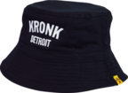 View the KRONK Detroit Cotton Bucket Hat Black/White online at Fight Outlet