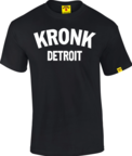 View the Kronk Detroit T Shirt Black/White online at Fight Outlet