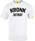View the Kronk Detroit T Shirt White/Black online at Fight Outlet