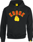 View the KRONK Gloves Applique Hoodie Regular Fit Black with Red & Yellow logo online at Fight Outlet