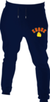 View the Kronk Gloves Joggers Regular Fit Navy with Red & Yellow Applique logo online at Fight Outlet