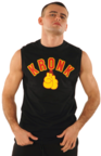 View the KRONK Gloves Sleeveless T Shirt Black/Red/Yellow online at Fight Outlet