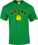 View the Kronk Gloves Tee Shirt, Green online at Fight Outlet