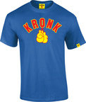 View the Kronk Gloves Tee Shirt Royal Blue online at Fight Outlet