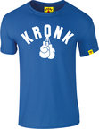View the Kronk ONE COLOUR GLOVES SLIM FIT TEE SHIRT, Royal Blue/White online at Fight Outlet