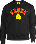 View the KRONK Boxing Gloves Sweatshirt Black online at Fight Outlet