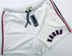 View the KRONK WAR SHORTS WHITE/RED/BLACK online at Fight Outlet