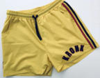 View the KRONK WAR SHORTS YELLOW/RED/BLACK online at Fight Outlet
