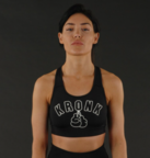 View the KRONKWOMEN Movement Sports Bra Black online at Fight Outlet