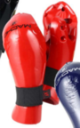 View the Macho Dyna Closed Finger Punch Red online at Fight Outlet
