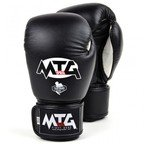 View the MTG-VG1 MTG Pro Black Velcro Boxing Gloves online at Fight Outlet