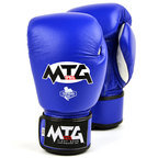 MTG-VG1 MTG Pro Blue Velcro Boxing Gloves