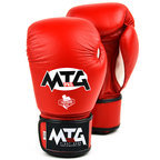 MTG-VG1 MTG Pro Red Velcro Boxing Gloves