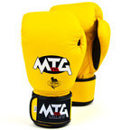 MTG-VG1 MTG Pro Yellow Velcro Boxing Gloves