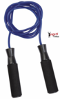 View the Pro Box 7' Heavy Weight Nylon Speed Rope, Blue online at Fight Outlet