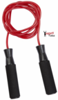 View the Pro Box 8' Heavy Weight Nylon Speed Rope, Red online at Fight Outlet
