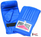 Pro Box 'BLUE COLLECTION' PU Pre-shaped Punch Bag Mitts