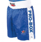 View the Pro Box ''CLASSIC'' Boxing Short Blue/White online at Fight Outlet
