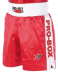View the Pro Box ''CLASSIC'' Boxing Short Red/White online at Fight Outlet