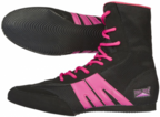 View the Pro Box Junior Boxing Boots Black/Fuchsia NEW! online at Fight Outlet