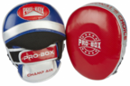 View the PRO BOX *NEW* CHAMP SPAR AIR PADS RED-BLUE-SILVER online at Fight Outlet