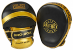 View the PRO BOX *NEW* CHAMP SPAR FOCUS PADS BLACK-GOLD online at Fight Outlet