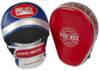 View the PRO BOX *NEW* CHAMP SPAR FOCUS PADS RED-BLUE-SILVER online at Fight Outlet